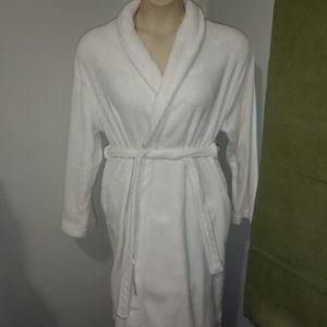 Hotel & Spa White Comfy Bathrobe